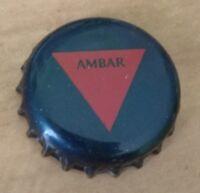 BEER BOTTLE CAP AMBAR EXPORT KRONKORKEN TAPON CHAPA CORONA CROWN TOP PIVO