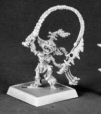 GOBELIN WARCHANTER - PATHFINDER REAPER miniature jdr rpg d&d metal goblin 60018