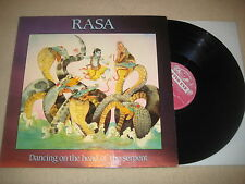 Rasa  - Dancing on the head of the serpent  Vinyl  LP