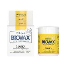 L'Biotica Biovax Natural Hair Mask Blond Hair 250ml Intensive Regeneration