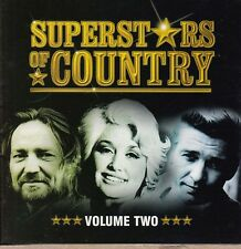 SUPERSTARS OF COUNTRY Volume Two 2 CDs Time-Life - 34 Tracks  NEW    SirH70