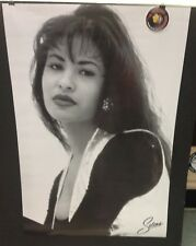 Selena Quintanilla Black White Photo Graphic 24