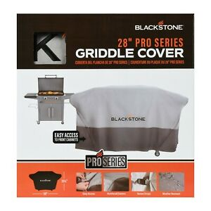"""NEW - Blackstone 28"""" ProSeries Griddle Cover Front Zippers Weather Resistant"""