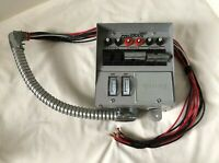 Reliance PRO-TRAN Manual Transfer Switch 30 Amps #31406C Side Load 30A 6 Circuit