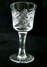 "Set of 5 Liqueur / Aperitif Glasses / goblets 4"" Cross and Star"