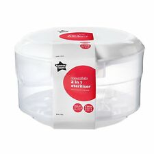 Tommee Tippee Essentials Microwave Sterilizer NEW & FAST