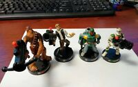 Star Wars Hasbro Lot of 4 Attacktix Battle Game Action Figures 2005