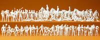 """Preiser 16346 H0 Figuren """"Sport und Freizeit""""  80 Figuren unbemalt #NEU in OVP##"""