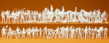 "Preiser 16346 H0 Figurines "" Sports and Leisure "" 80 Figurines Unpainted #"