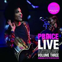 Prince Live Anthology 3 Purple Gold Archives Collection CD 2 Discs 2007 London