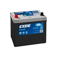1x Exide Excell 60Ah 390CCA 12v Type 002 Car Battery 3 Year Warranty - EB605