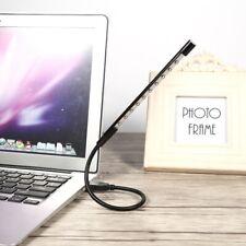 Flexible USB 10 LED Light Spotlight Lamp Gadget Reading for Laptop Power Bank