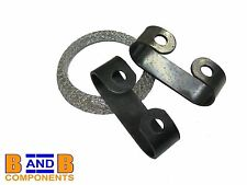 VW GOLF MK1 CABRIOLET MK2 CADDY SCIROCCO EXHAUST GASKET + CLAMP 161298115 A280