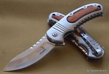 ELK RIDGE SPRING ASSISTED KNIFE **RAZOR SHARP** BLADE WITH POCKET CLIP