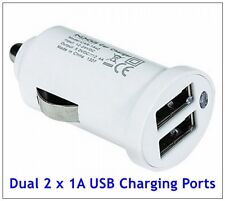 Lot of 2 NXG Technology 2-Port USB Car Charger Power 5w for Smartphones/Tablets