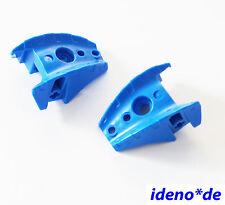 Lego Bionicle Technic 2 unidades schulterteil Azul Cubierta 57557 NUEVO
