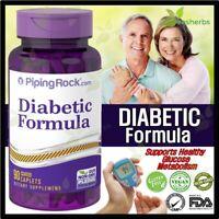 DIABETIC Formula Blood Sugar Healthy Glucose Metabolism Supplement 90 Caplets