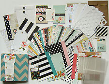 SIMPLE STORIES  [I AM]  6x8 Journal Kit with Binder & Embellishments  Save 50%