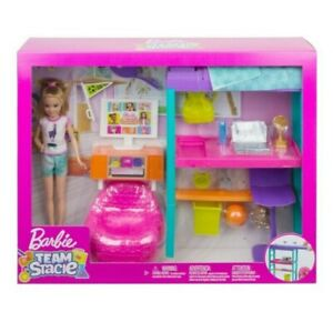 Barbie Team Stacie Bedroom Playset with Doll