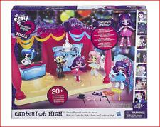 My Little Pony CANTERLOT HIGH SCHOOL DANCE Set + Twilight Sparkle Doll 20 Pieces
