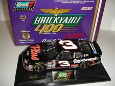 1998 Dale Earnhardt #3 Brickyard 400 1/24 Scale Revell Cwc With Coa