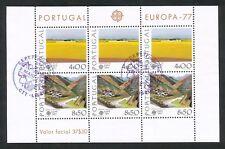 Portugal blok 20 gestempeld