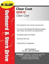 Moeller Marine Engine Clear Coat - High Gloss Lacquer - 12 oz - 025519