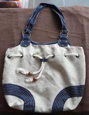 Outdoorer Camping Coussin bleu /à carreaux petit sac fourre-tout le coussin de voyage l/éger