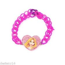 Disney Princess Rapunzel Loom Rubber Band Bracelet NWT