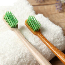 Natural Bamboo Wooden Handle Toothbrush Eco Friendly Charcoal Soft Bristles G