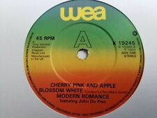 "Modern Romance - Cherry Pink And Apple Blossom White 7"" Vinyl Single"