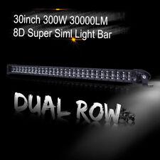 "30"" Straight LED Light Bar Spot Driving Lamp Offroad 4WD 4x4 Truck JEEP SUV Slim"