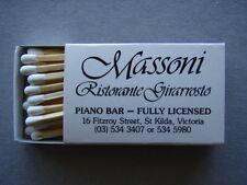 MASSONI RISTORANTE GIRARROSTO - MUSET BISTRO - MATCHBOX