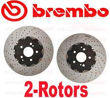 Set of 2  Brembo Front Brake Rotor Mercedes C63 CLK63 E63 SL55  AMG w/ Code P30