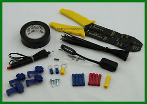 Wiring Installation Kit with Crimping Tool & Wire Terminal Connectors -43 pcs