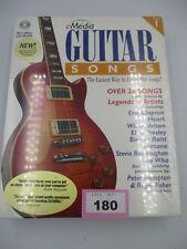 More details for  emedia guitar songs vol 1 for win 95/98/nt/2000/me & powerpc mac os 7.5.3