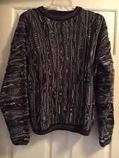 SEVEN OAKS CANADA Mercerized Cotton Crewneck Sweater - Size Medium