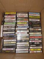 Vtg Cassette Lot Of 70 Country Pop Rap Easy