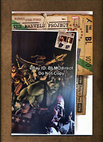 2009 The Marvels Project #1 NM- Gerald Parel Variant Marvel Captain America