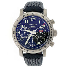 Chopard Mille Miglia Chronograph 40mm Titanium Auto Mens Watch 168915-3001 w/Box