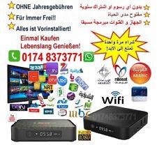 TV Receiver Arabisch+beIN Sport_Frei für Immer 100% Ohne Abo_&Gebühren+Garantie!