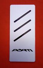 Fußstütze Opel  ADAM Edition  Tuning Pedale NEU Inlay Farbe  Schwarz / Rot