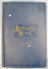 Butlers Book Benjamin Butler Autobiography 1892 Illustrated A M Thayer & Co (O)