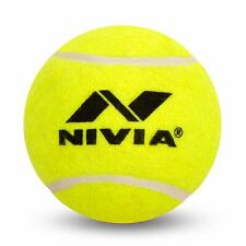 Nivia Heavy Weight Junior Tennis Cricket Ball, Pack of 6 (Yellow)