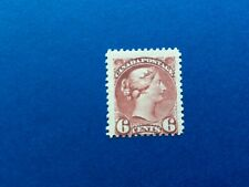 Canada #43 6c Red Brown, Queen Victoria 1888,  VG/F mnh