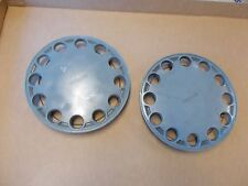 "Nissan Pulsar NX Hub Caps Just 2 for 14"" wheels Used OEM 87 88 89 90 Base Model"