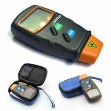Professional Digital Laser Photo Tachometer Non Contact RPM Tach BU