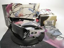 Rare! New Oakley Will Barras Montefrio Polished Black w/Grey 24-049