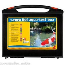 sera KOI AQUA TEST BOX, Testkoffer Testset Wassertest - Testlabor Teich - 07715