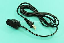 Power Cord Single Lead Fits Singer 201, 66, 99, 15-91, 301A, 401A, 403A, 404